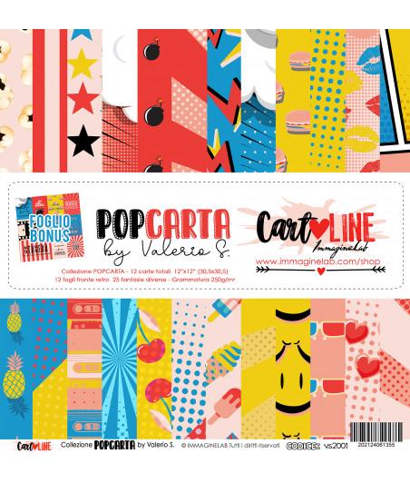 CartoLINE - PopCarta by Valerio 12''x12''