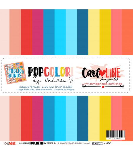CartoLINE - PopColori By Valerio 12''x12''