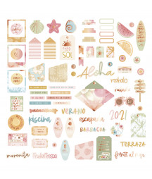 MINTOPIA - Die cuts palabras
