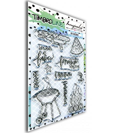 TimbroLINE - Ferragosto by Cocorie