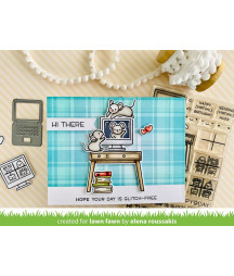 LAWN FAWN - Perfectly Plaid Remix 6x6 Inch Collection Pack