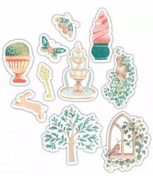 CRAFT CONSORTIUM - Secret Garden Wood Shapes