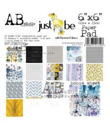 """AB STUDIO -  """"Just be""""- 15x15"""