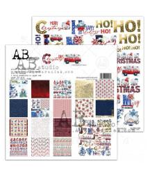 "AB STUDIO -  ""Christmas Days""- 15x15"