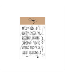 Tommy clear stamps –  Mini...