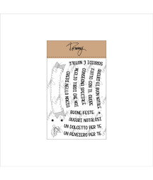 Tommy clear stamps – Auguri...
