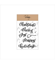 Tommy clear stamps – Merry...