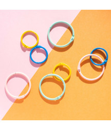 Embellishment Buenos días Colored o rings