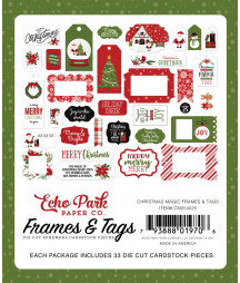 ECHO PARK -  Christmas Magic Frames & Tags