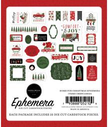 CARTA BELLA - Home For Christmas Ephemera
