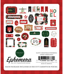 CARTA BELLA - Happy Christmas Ephemera