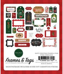 CARTA BELLA - Happy Christmas Frames & Tags