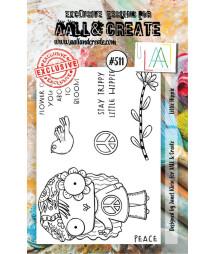 AALL & CREATE - 511 Stamp...
