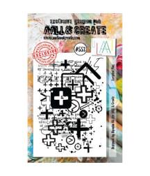 AALL & CREATE - 553 Stamp...