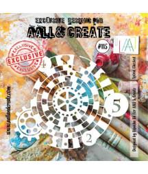 AALL & CREATE - Stencil 115...