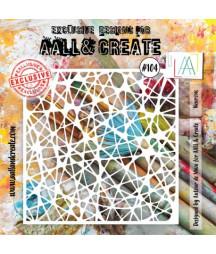 AALL & CREATE - Stencil 104...