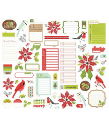 SIMPLE STORIES - Make it Merry Journal Bits