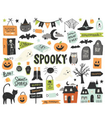 SIMPLE STORIES - Spooky Nights Bits & Pieces