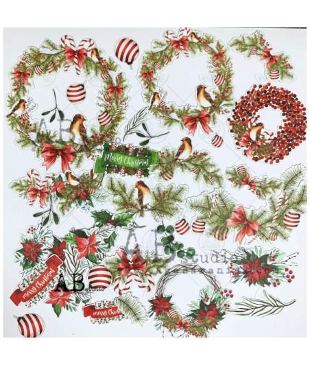 """AB STUDIO -  """"Christmas""""- die cut"""