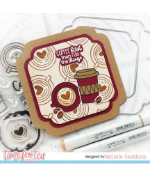 TIME FOR TEA - Coffee Lovers Clear Stamps