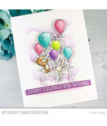 MY FAVORITE THINGS  - Clear Stamp -  Sweet Celebration