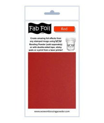 WOW! - Fabulous Foil - Red