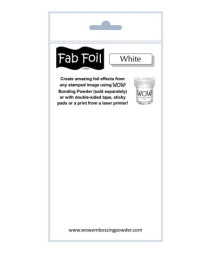 WOW! - Fabulous Foil - White