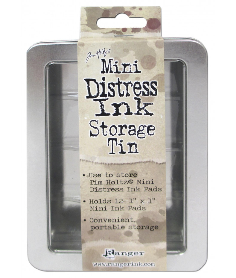 DISTRESS MINI INK PAD - Storage Tin by Tim Holtz