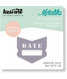 KESI'ART - Mini Metaliks Date Marker