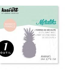 KESI'ART - Mini Metaliks Ananas