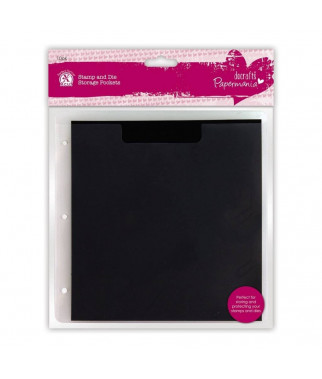 PAPERMANIA - Stamp & Die Storage Pockets with Magnetic Shim