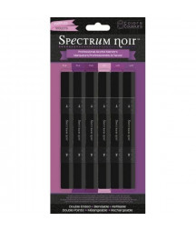 SPECTRUM NOIR - 6 Pen Set - Purples