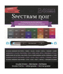 SPECTRUM NOIR - 24 Pen Set - Darks