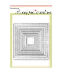 COPPIA CREATIVA - Quadrati cuciti