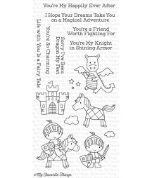 MY FAVORITE THINGS  - Clear Stamp - Knight In Shining Armor