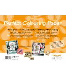 PERFECT COLOURING PAPER -  10 fogli per colorazione