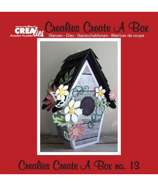 CREALIES - A Box no. 13 Birdhouse