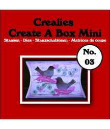 CREALIES - Create A Box Mini no. 03 Pillowbox