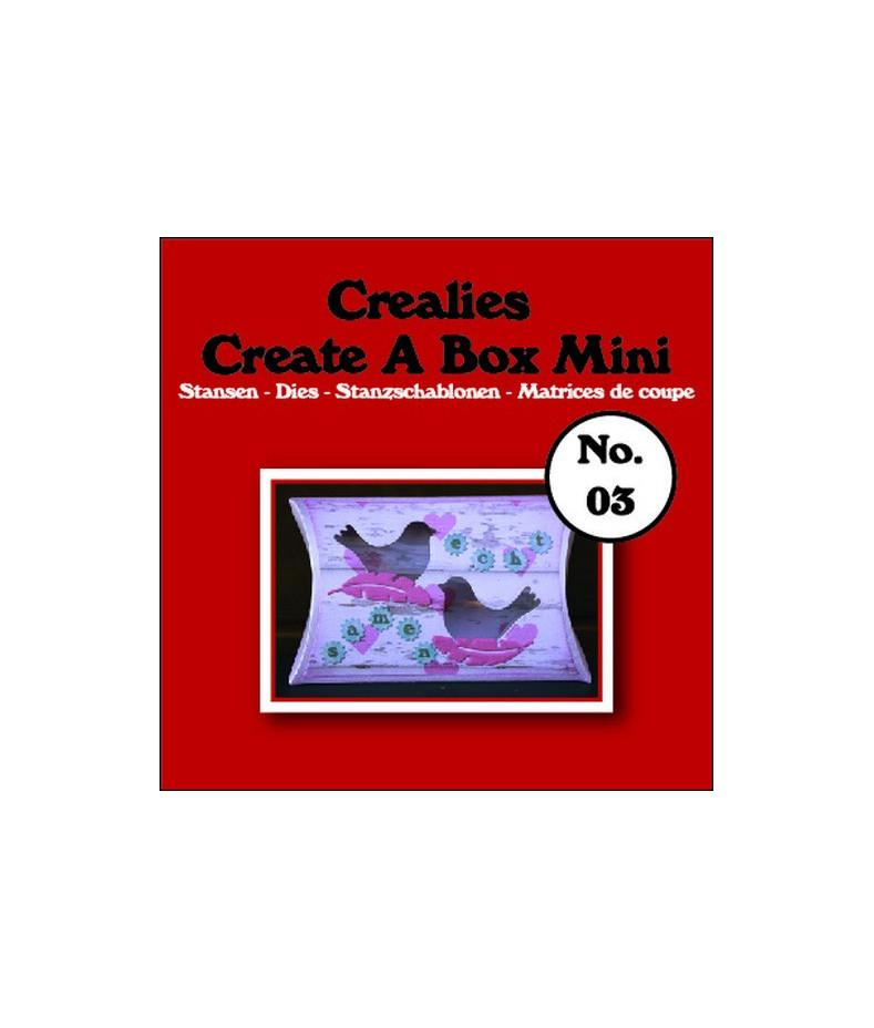 CREALIES - Create A Box Mini no. 03 Pillowbox