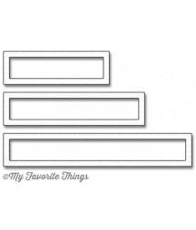 MY FAVORITE THINGS  - Die-namics Rectangle Word Window Frames