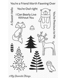MY FAVORITE THINGS  - Clear Stamp - Friends In The Forest