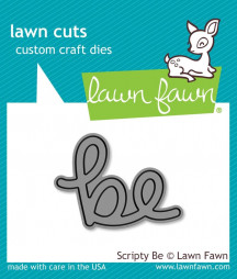 LAWN FAWN - Scripty be