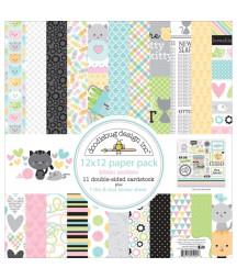 DOODLEBUG - Kitten smitten - 20x20 Inch Paper Pad