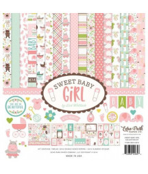 ECHO PARK - Sweet Baby Girl - 12x12  Pad Collection Kit