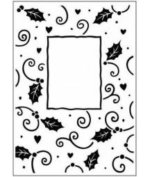 EMBOSSING FOLDER - Floral Frame