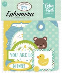 ECHO PARK - Sweet Baby Boy Ephemera