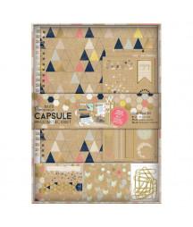DOCRAFTS PAPERMANIA - Geometric Paper Kraft Capsule