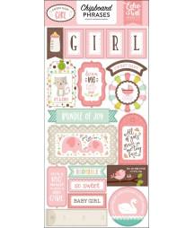 ECHO PARK -  Sweet Baby Girl - Chipboard