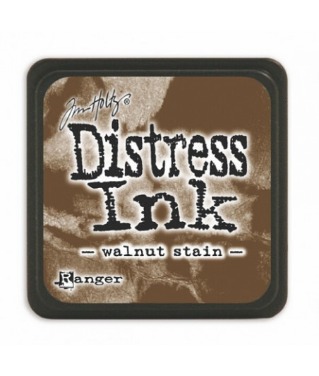 DISTRESS MINI INK -  Walnut Stain