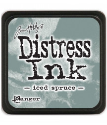 DISTRESS MINI INK -  Iced spruce